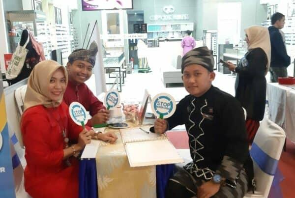 Kegiatan Pameran Edukasi Publik di Ayani Mega Mall (Hari Ke-1)