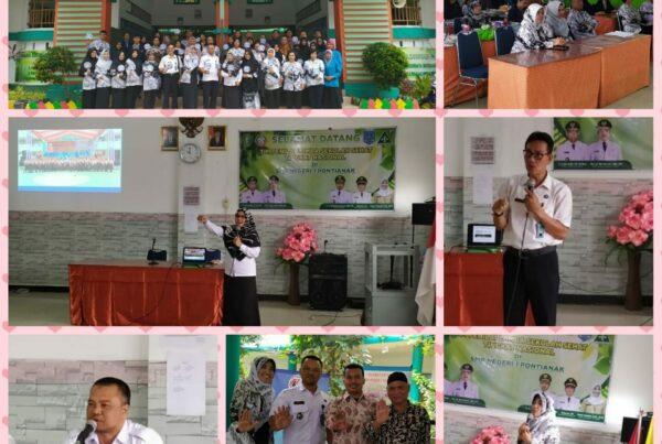 Workshop P4GN di SMPN 1 Pontianak