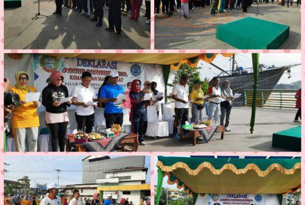 BNN Kota Pontianak Apresiasi Kelurahan Benua Melayu Laut Deklarasi Anti Narkoba