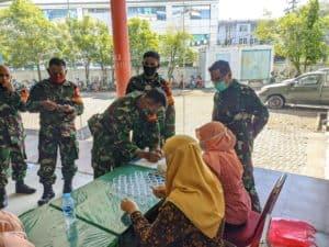 Kepala BNN Kota Pontianak melaksanakan sosialisasi terhadap Personel Kodim 1207/BS