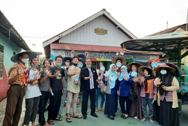 P2M BNN Kota Pontianak Melaksanakan Kegiatan Informasi dan Edukasi melalui Insert Konten kepada Generasi Muda Kampung Caping Pontianak
