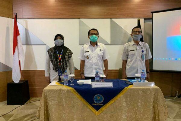 Seksi P2M BNN Kota Pontianak Melaksanakan Kegiatan Rapat Kerja Program Pemberdayaan Masyarakat Anti Narkoba Di Kota Pontianak